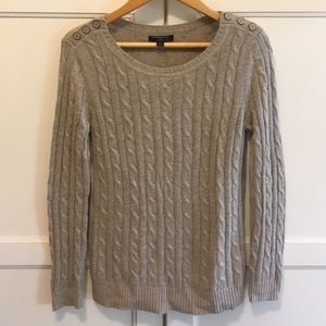 Banana Republic cable knit sweater SP
